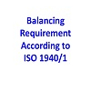 ISO balancing grades 1940/1