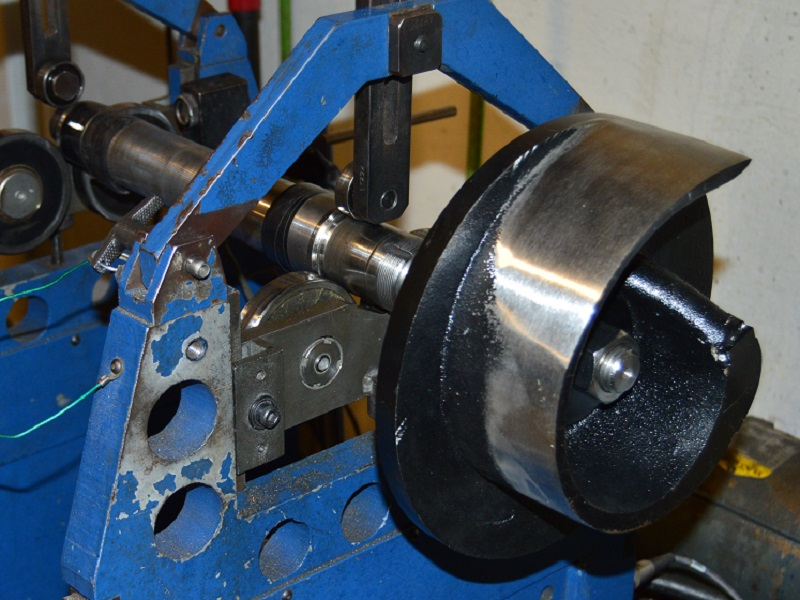 shop balancing pump impeller