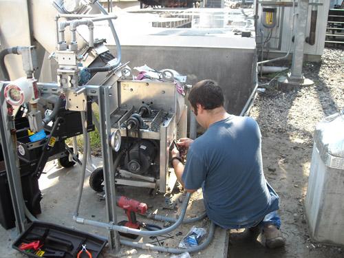 Remote Vibration Installation