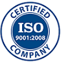 ISO 9001:2008 Certification Badge for New England SpinTech