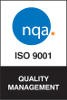 ISO 9001:2015 Certification Badge for New England SpinTech